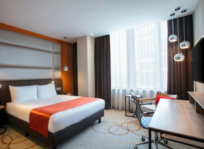 Holiday-Inn-Amsterdam-Arena-Towers-Doppelzimmer